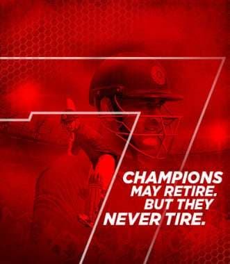 Champions May Retire. But They Never Tire.