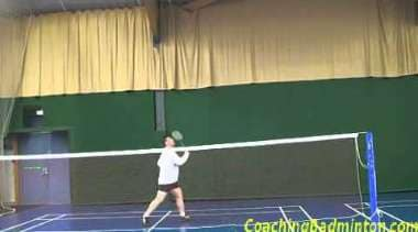 Badminton Drop Shot