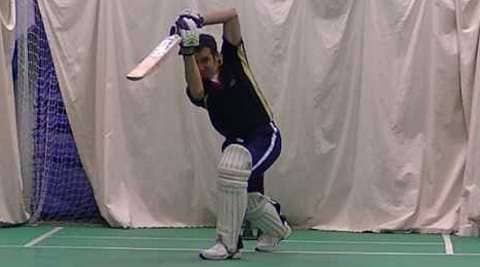 Cricket - The Off Drive or Front foot drive